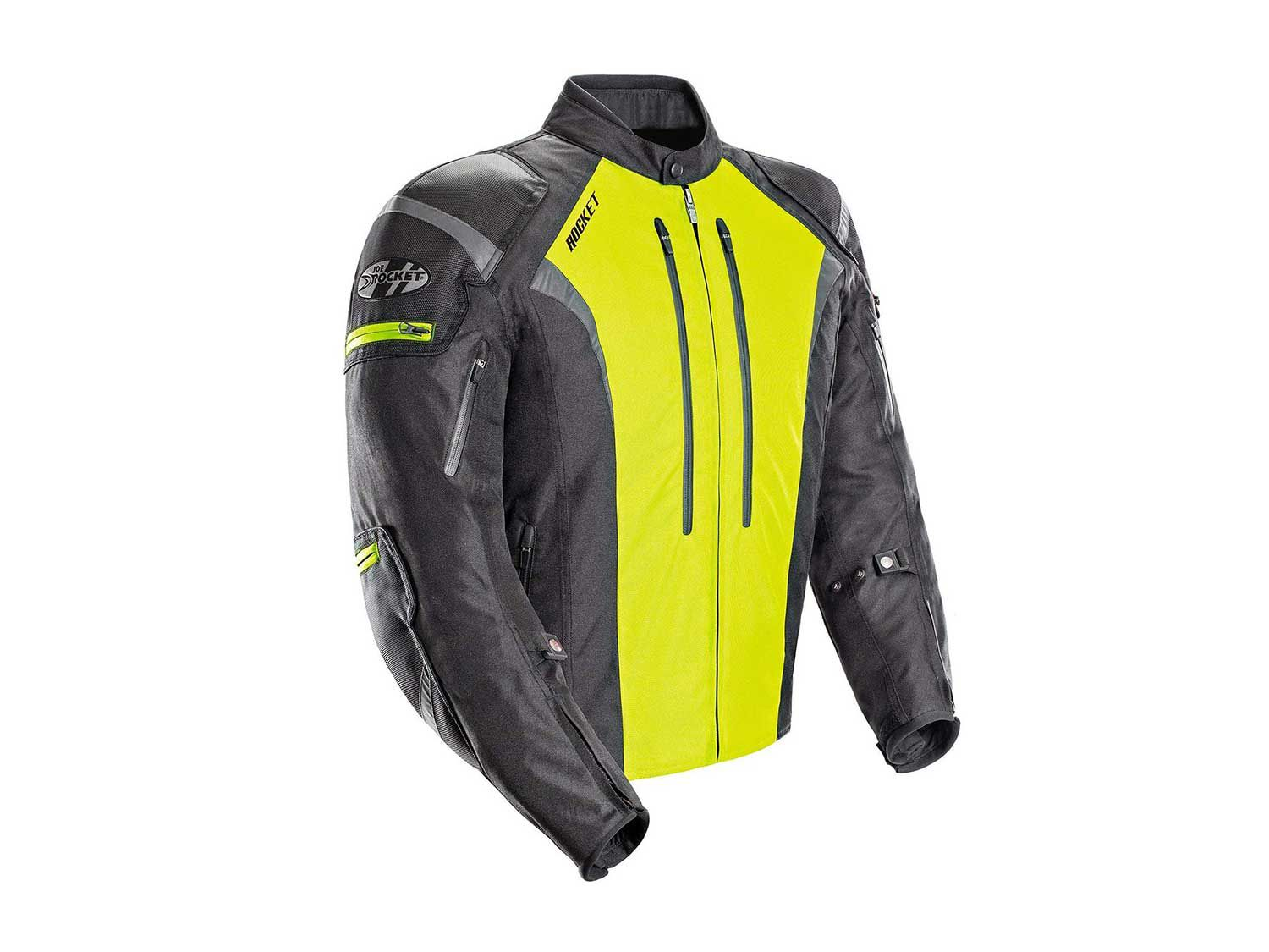Get the best of both worlds with high visibility and waterproofing.