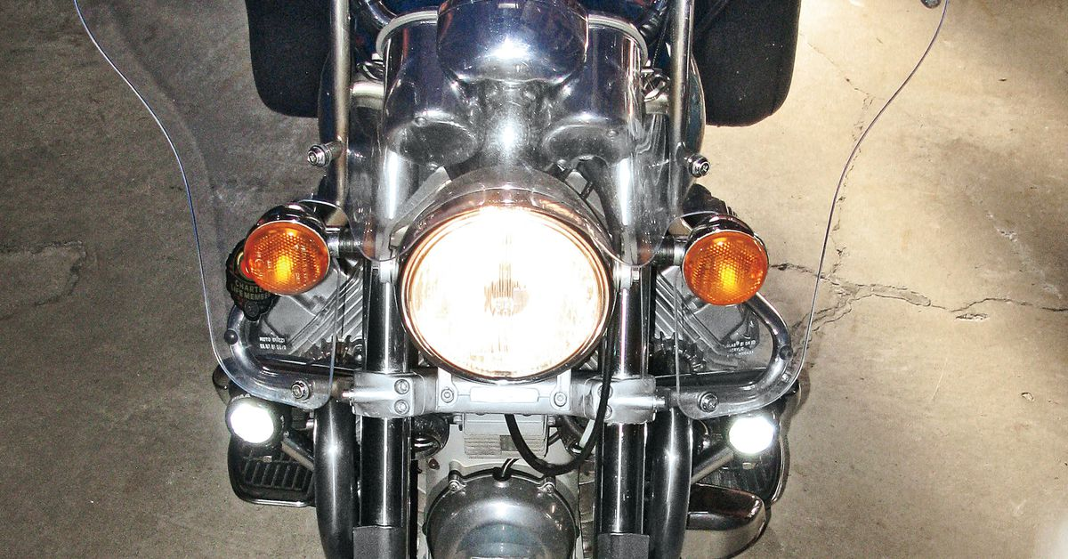 How to Install Motorcycle Driving Lights | Motorcycle Cruiser
