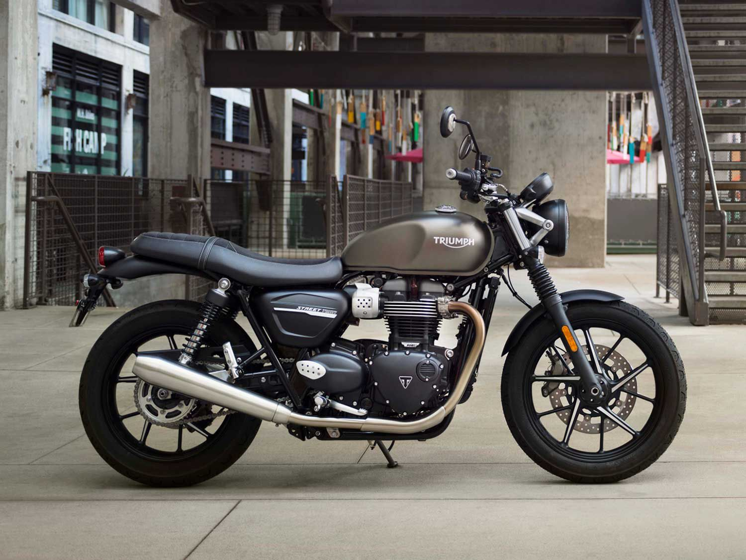 Speaking of entire platform overhauls, Triumph did just that with its Bonneville-based classics, making the massively satisfying new T120, Thruxton and Street Twin models in the process. Pictured is the 2019 Street Twin.
