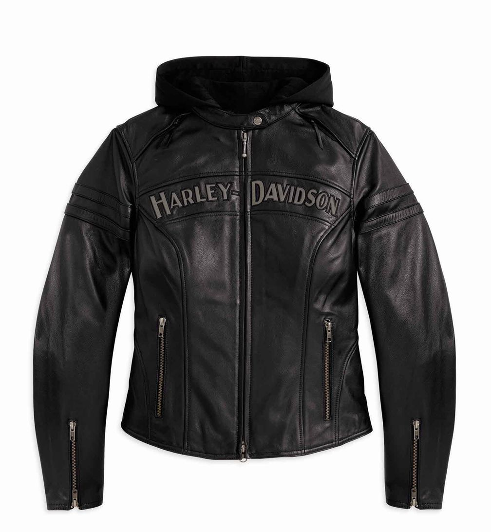 cad5d088b88c Harley-Davidson Women's Miss Enthusiast 3-in-1 Jacket | Motorcycle ...
