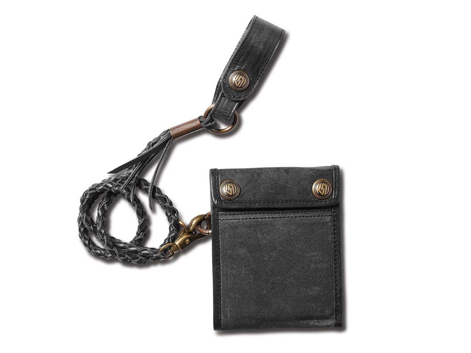 The classic biker chain wallet, refined.