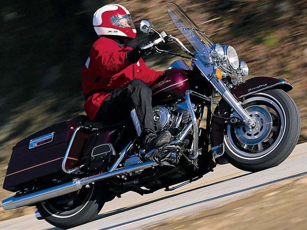 1997 Tourer Comparison: Harley-Davidson Road King