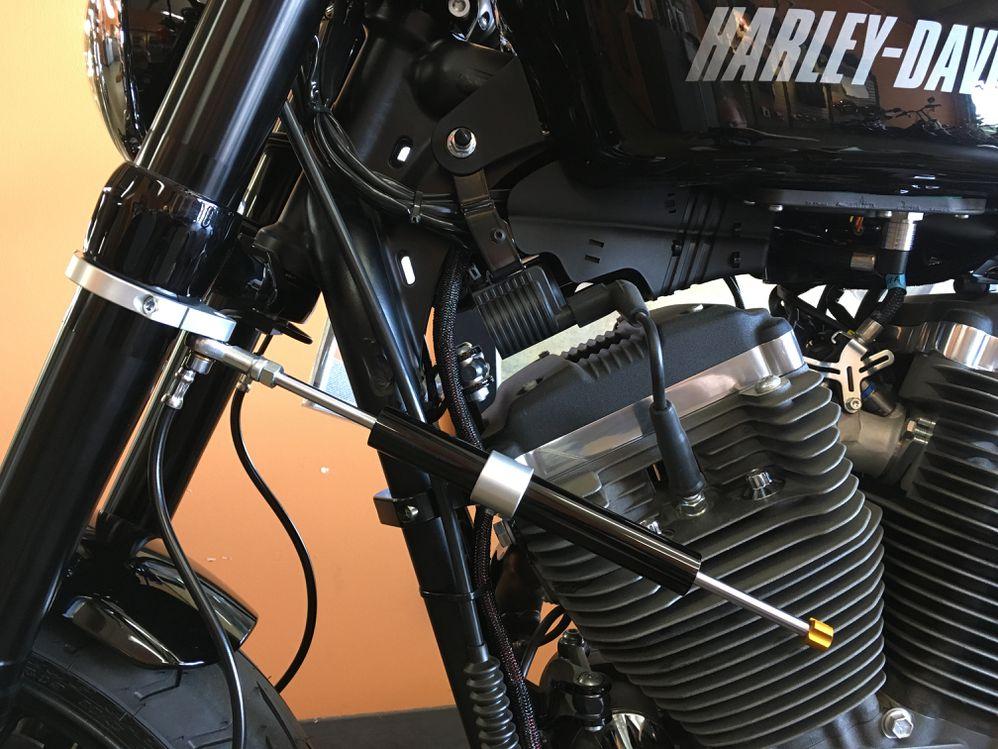 Storz Steering Damper Kit for 2017 Roadster | Motorcycle Cruiser