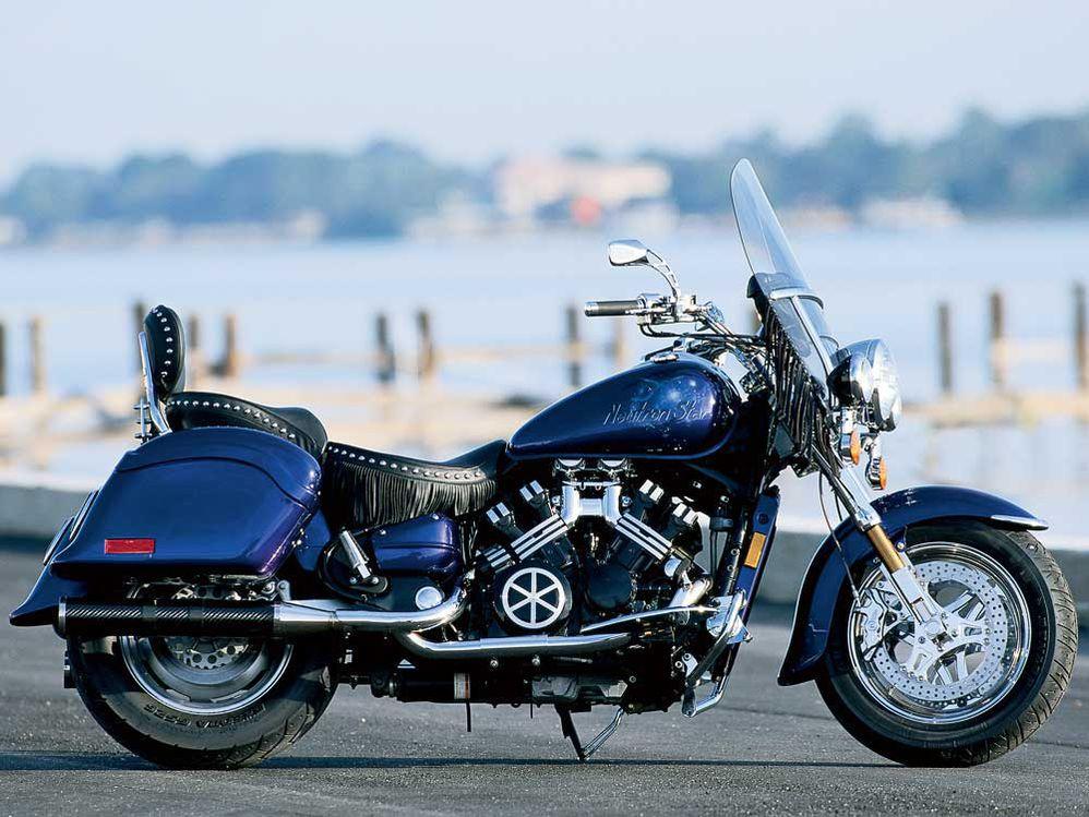 A Custom Yamaha Royal Star With The Heart Of A V-Max