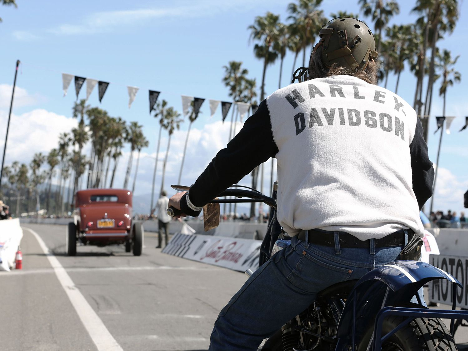 Harley-Davidson was the main sponsor of this year's event.
