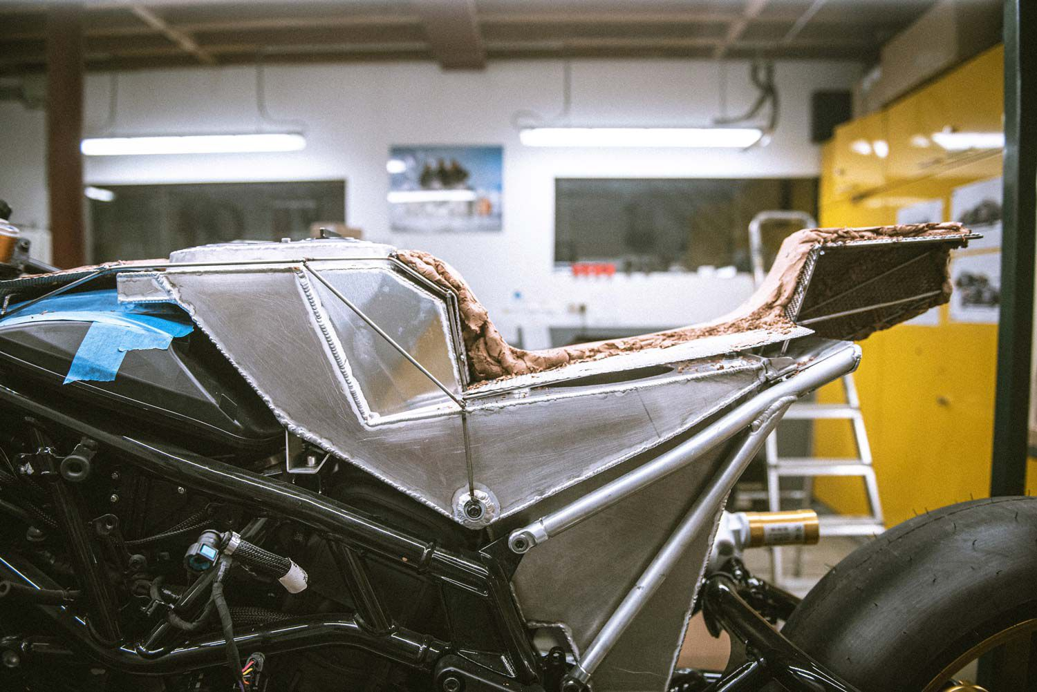 Workhorse Speed Shop is working on two custom builds based on Indian's FTR 1200, but all we know is in these teaser shots.