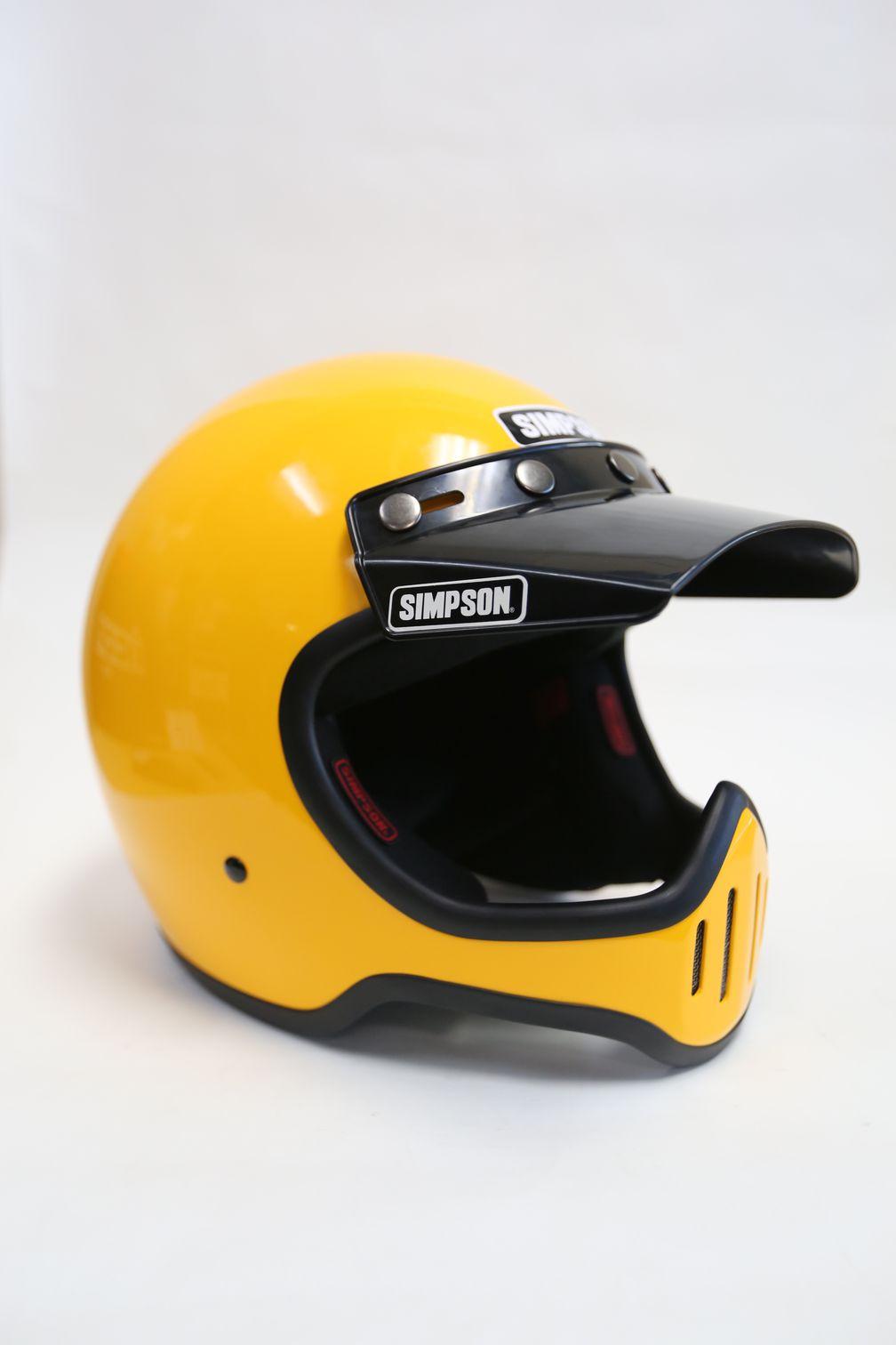 d9db5e29 Simpson M50 full face retro helmet with visor