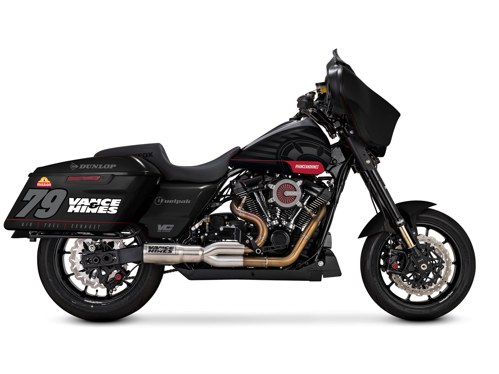 Vance & Hines Is Back In King of the Baggers