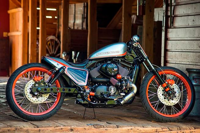 """Harley crowned its first US Custom King (the original name for H-D's dealership custom contest) in 2015, awarding a tricked-out Street 750 motorcycle from Yellowstone Harley-Davidson the top prize for this inaugural competition. The """"Next Generation Boardtrack Racer"""" drew its inspiration from the boardtrackers of the 1920s and 1930s."""