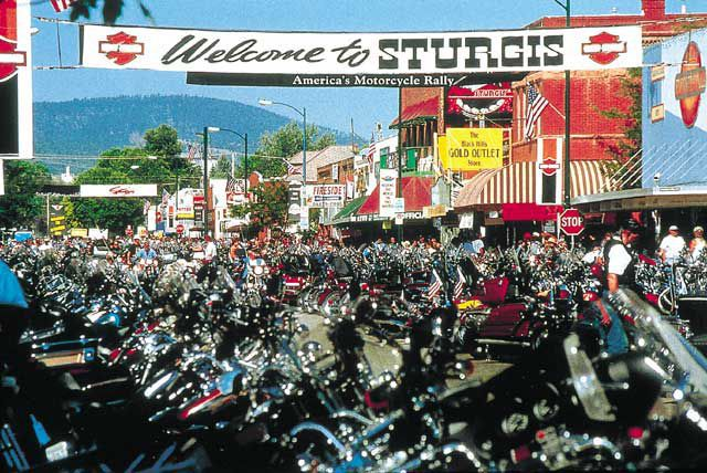The largest motorcycle rally in the States, Sturgis is packed with motorcyclists of all flavors.