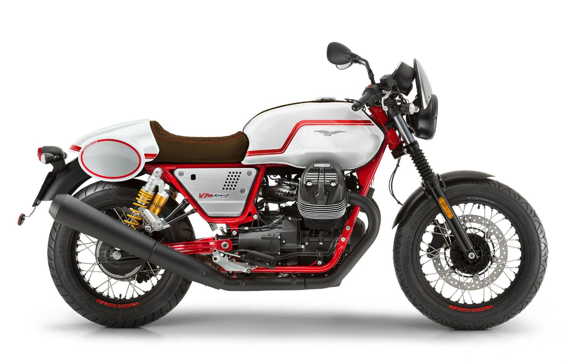 2020 Moto Guzzi V7 III Racer Limited Edition is coming to the US and Canada this summer.