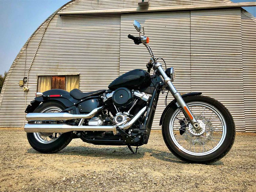 Riding The 2020 Harley Softail Standard