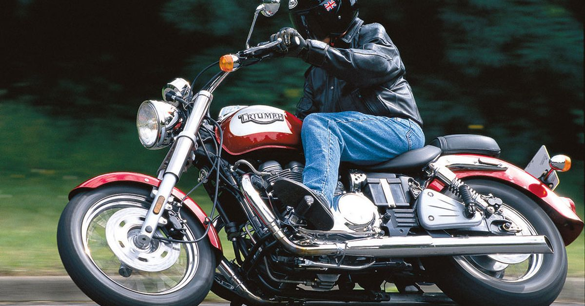 When The 2002 Triumph Bonneville America Invaded The Us Motorcycle
