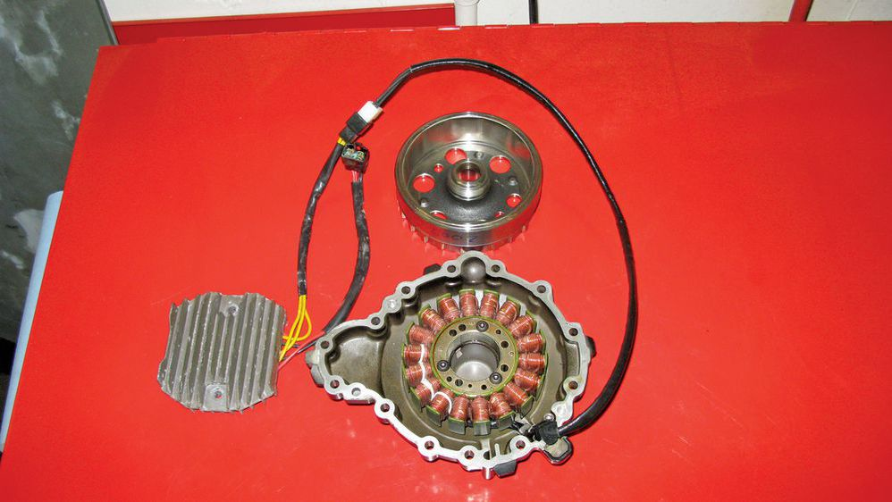 Motorcycle Stator And Alternator | Motorcycle Cruiser