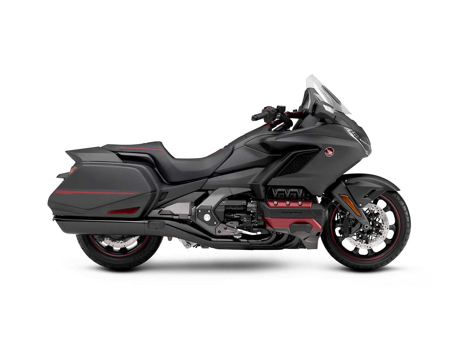 All the amenities, less weight, and DCT—the latest Honda Gold Wing.