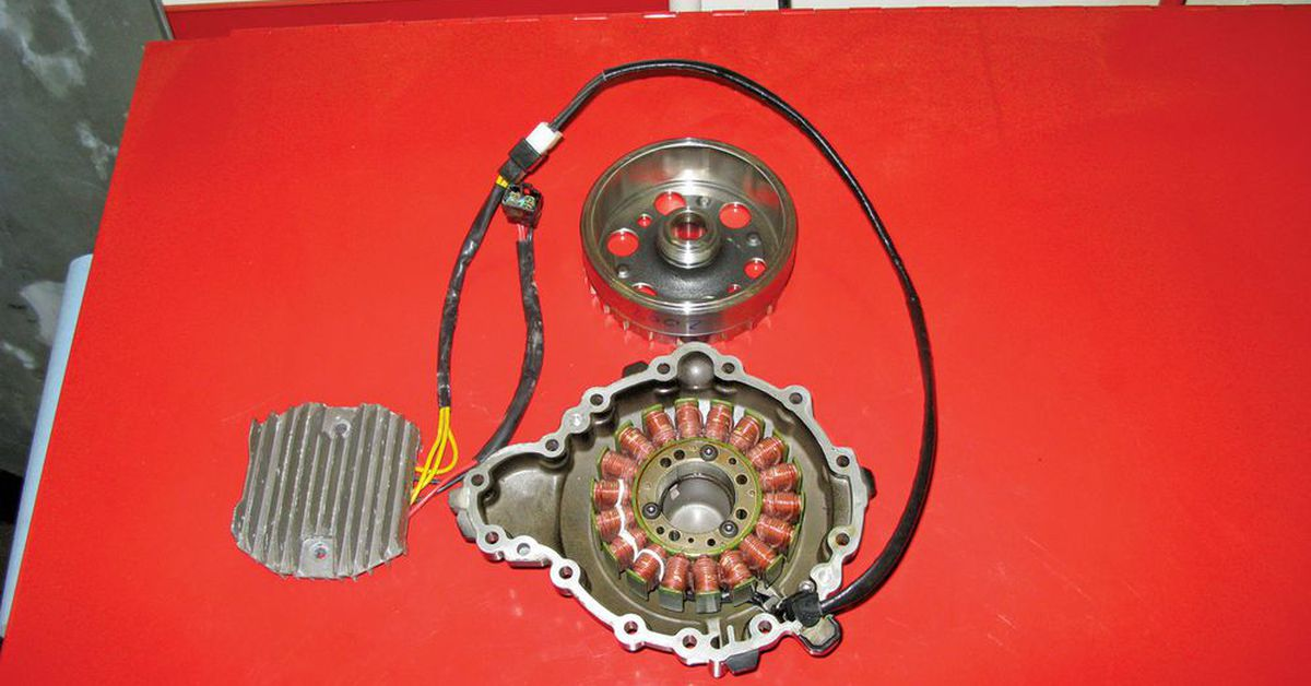 Motorcycle Stator And Alternator Motorcycle Cruiser