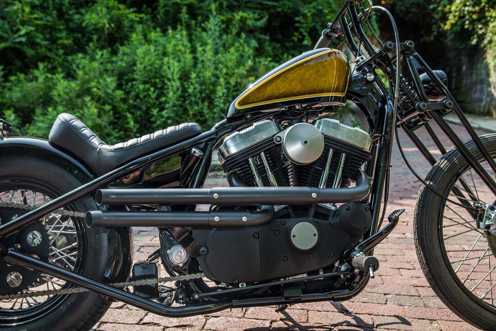Shotgun Exhaust for Sportsters | Motorcycle Cruiser