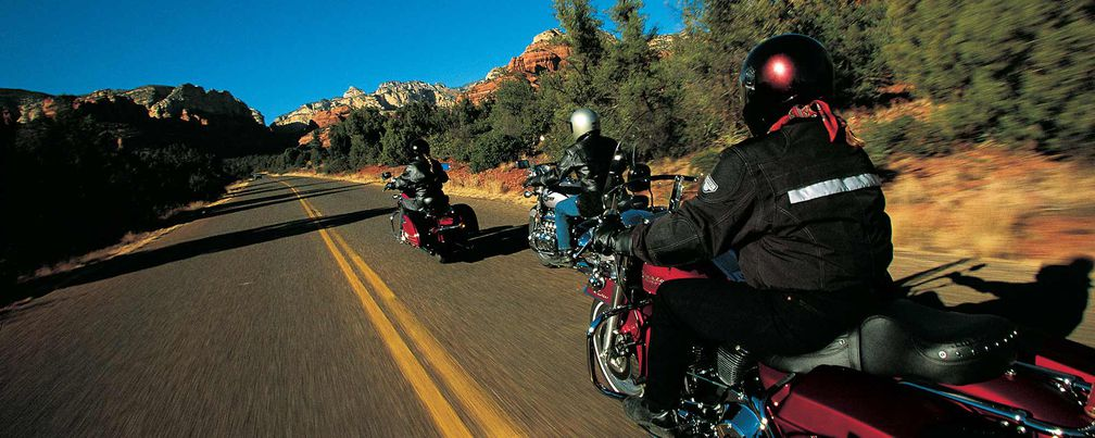 Going the Distance Aboard the Harley-Davidson Road King, Honda