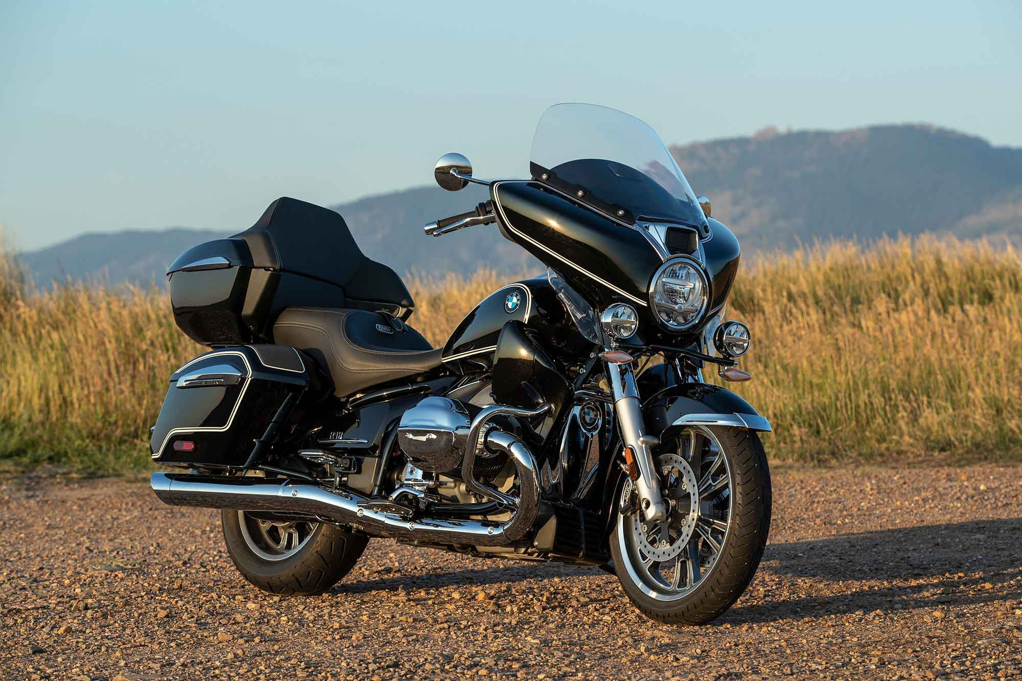 The R 18 Transcontinental has a starting MSRP of $24,995 but costs $31,965 as tested.