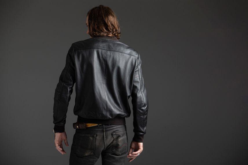 Back of Spidi Super Jacket