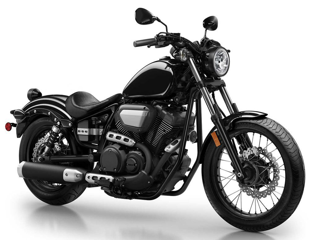 Yamaha Star Bolt in Raven Black.
