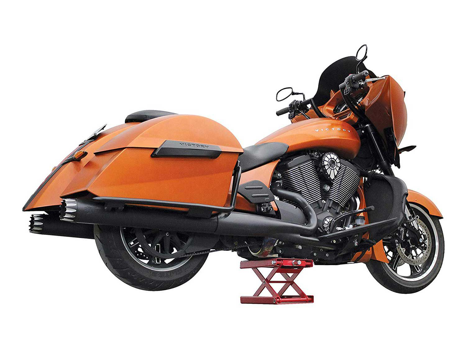 A well-designed, correctly sized motorcycle lift or jack can make any bike project a much easier proposition.