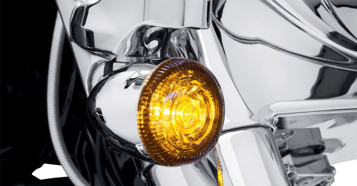 H D Led Turn Signal Inserts Motorcycle Cruiser