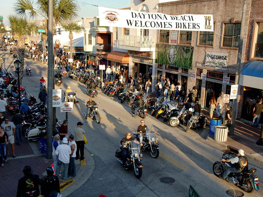 Main Street is the focal point of Bike Week, but there are events happening all over the county.