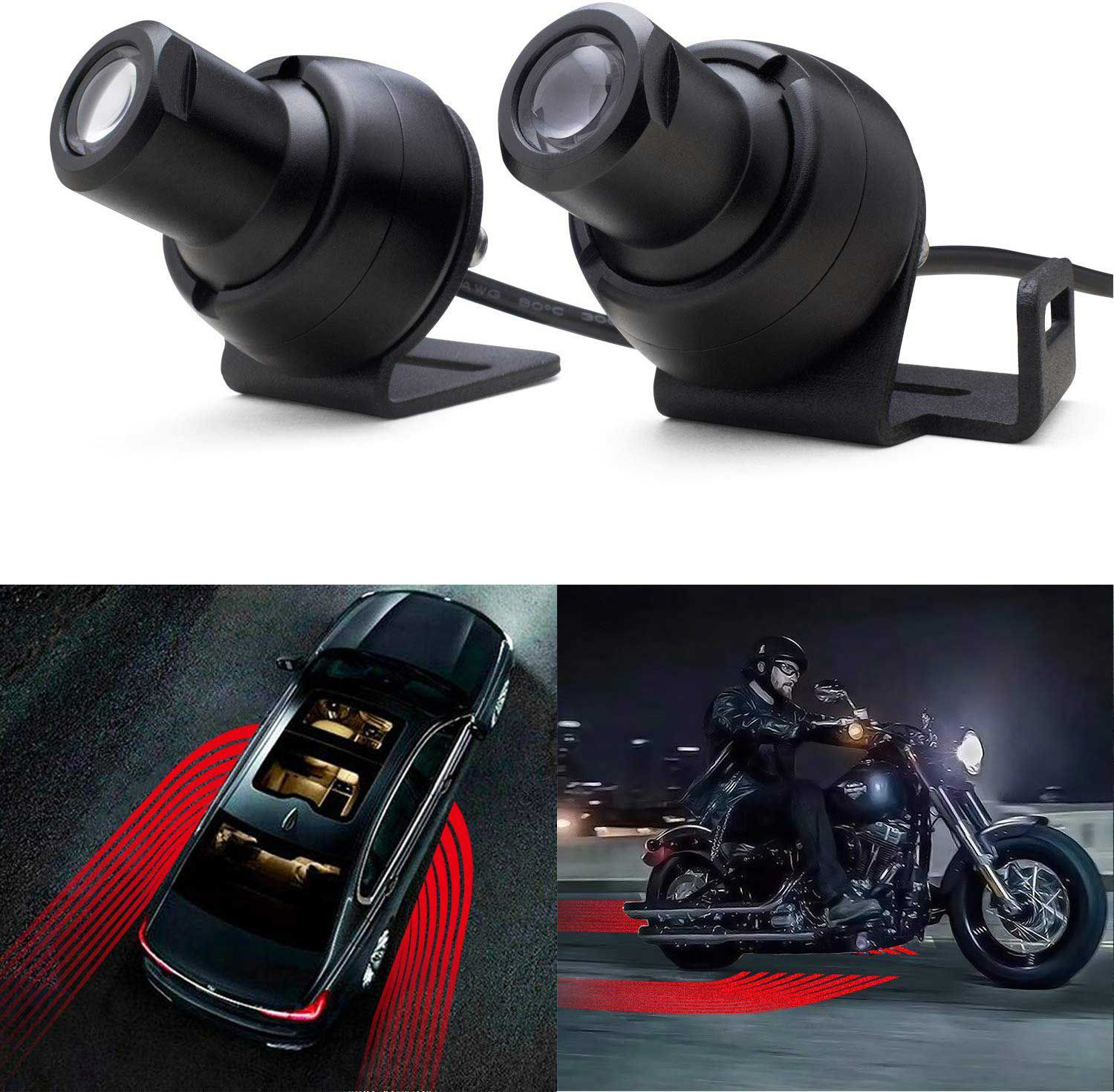 A cool lighting accessory for your bike that you can control.
