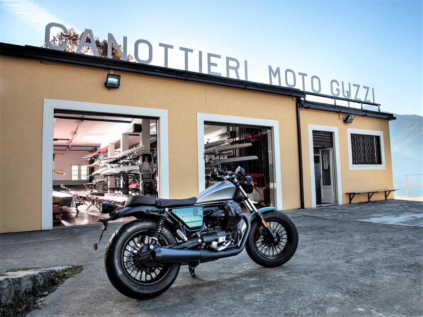 The V9 Bobber is looking forward to another century of cruising.