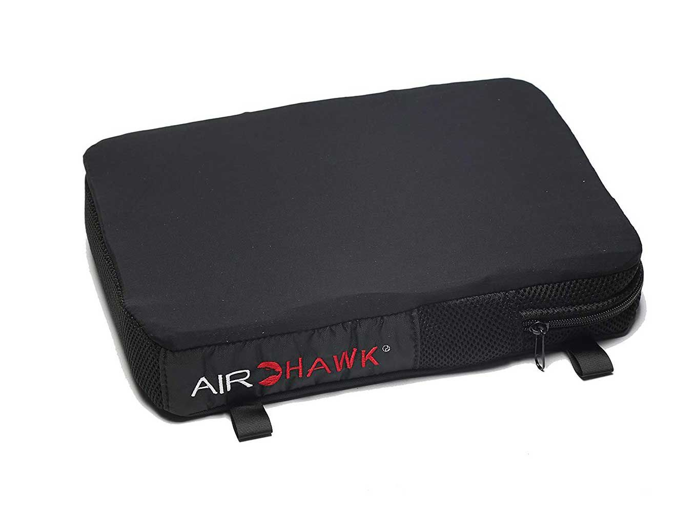 Increase the comfort of your passenger's ride with the adjustable Airhawk Cruiser Pillion Cushion.