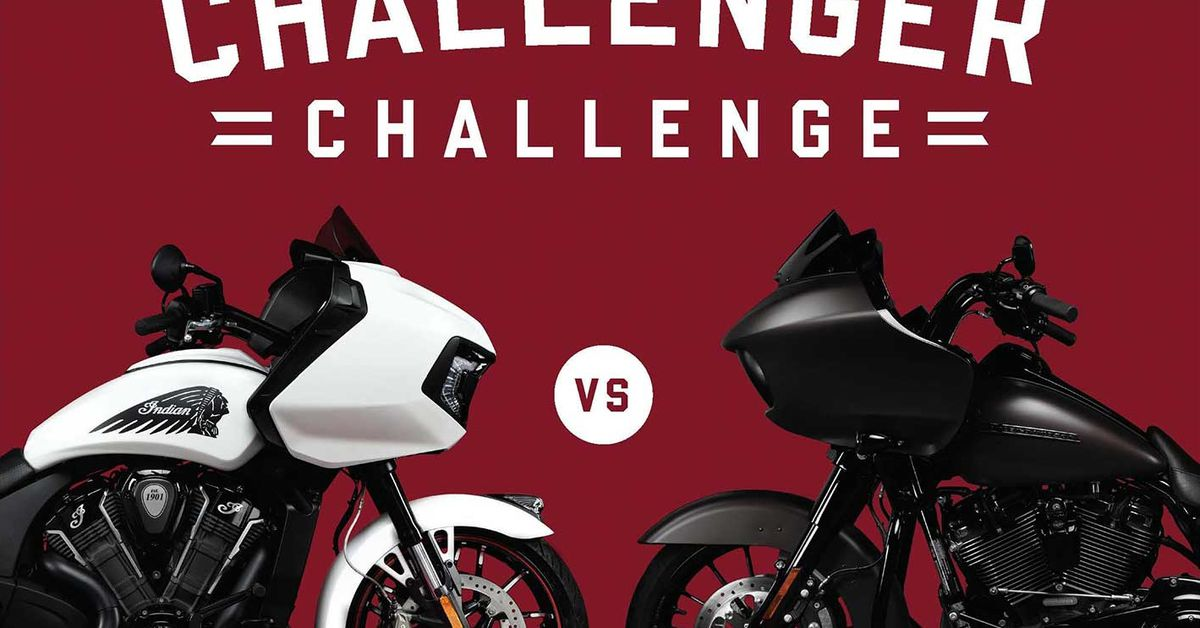 Indian Motorcycle Challenges The Harley-Davidson Road Glide