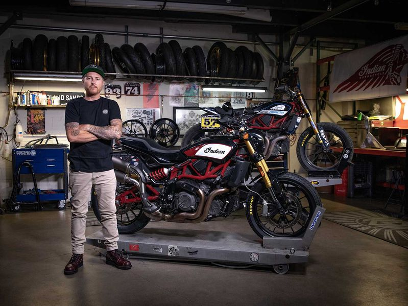 Roland Sands And Indian Create FTR Accessories Collection