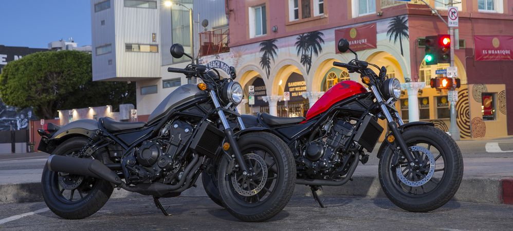 The 2017 Honda Rebel 300 Is Our Cruiser Of The Year