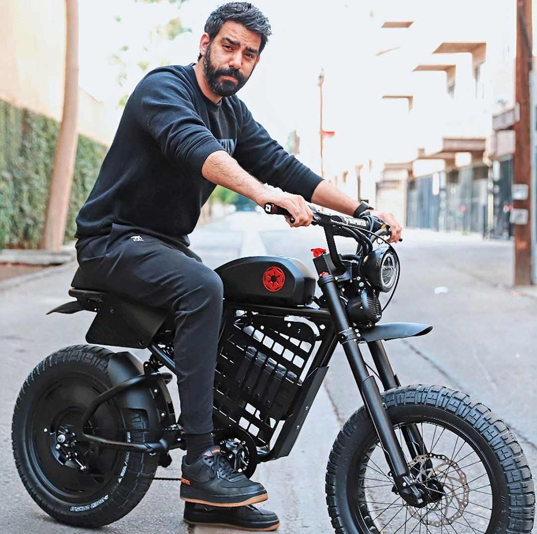 The TIE-fighter-inspired build was designed for actor and Star Wars fan Rahul Kohli.