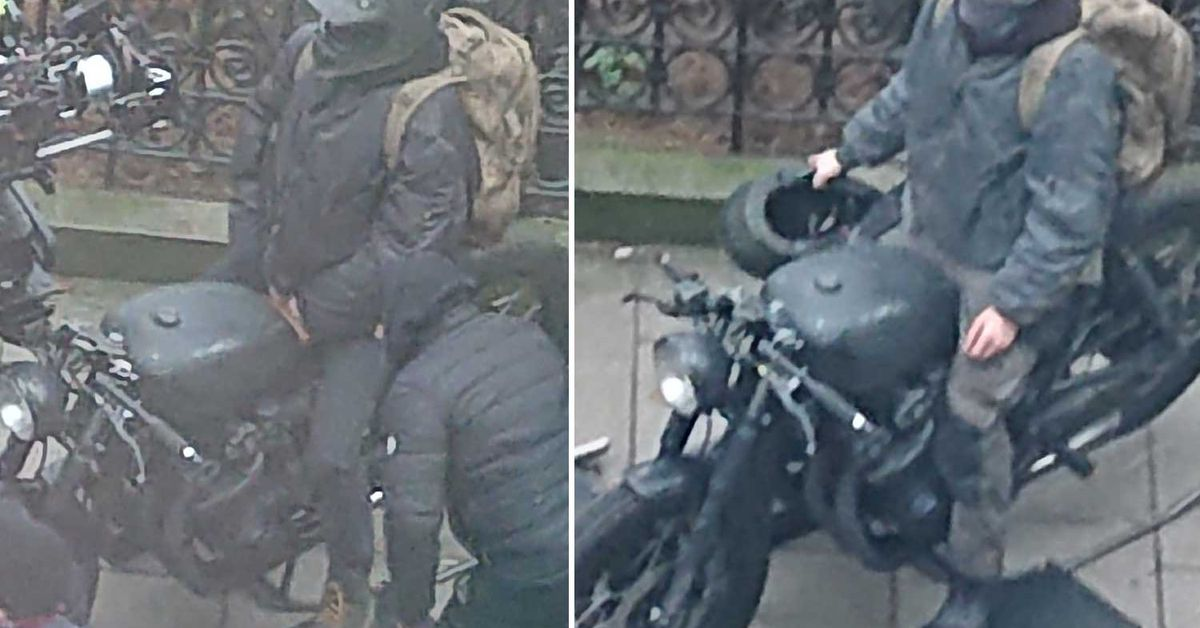 Leaked On-Set Pictures Show Possible New Batman Motorcycle