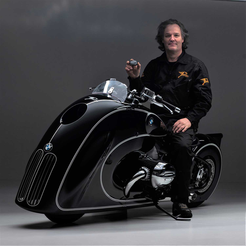 Racer, designer, and master craftsman Dirk Oehlerking is no stranger to BMW custom builds.