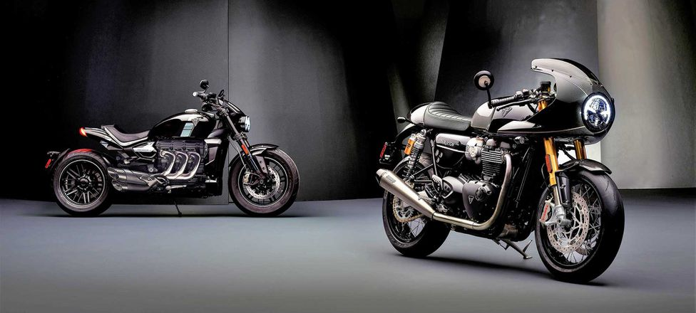 Triumph Debuts New Factory Custom Line With Thruxton Tfc And Concept