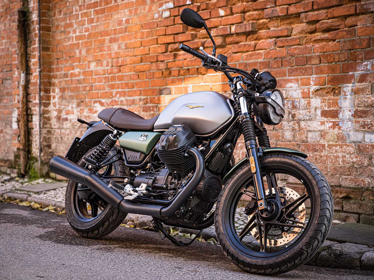 Moto Guzzi introduces a special-edition V7 Stone Anniversary model to mark the brand?s 100th birthday.