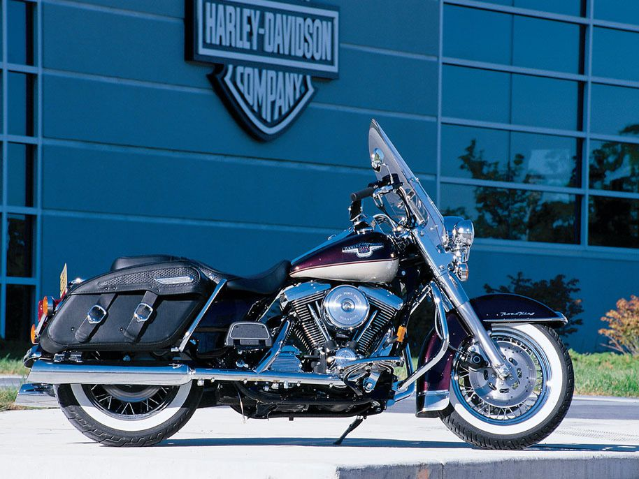1998: harley-davidson celebrates 95 years with a new road king and updated  sportster 1200