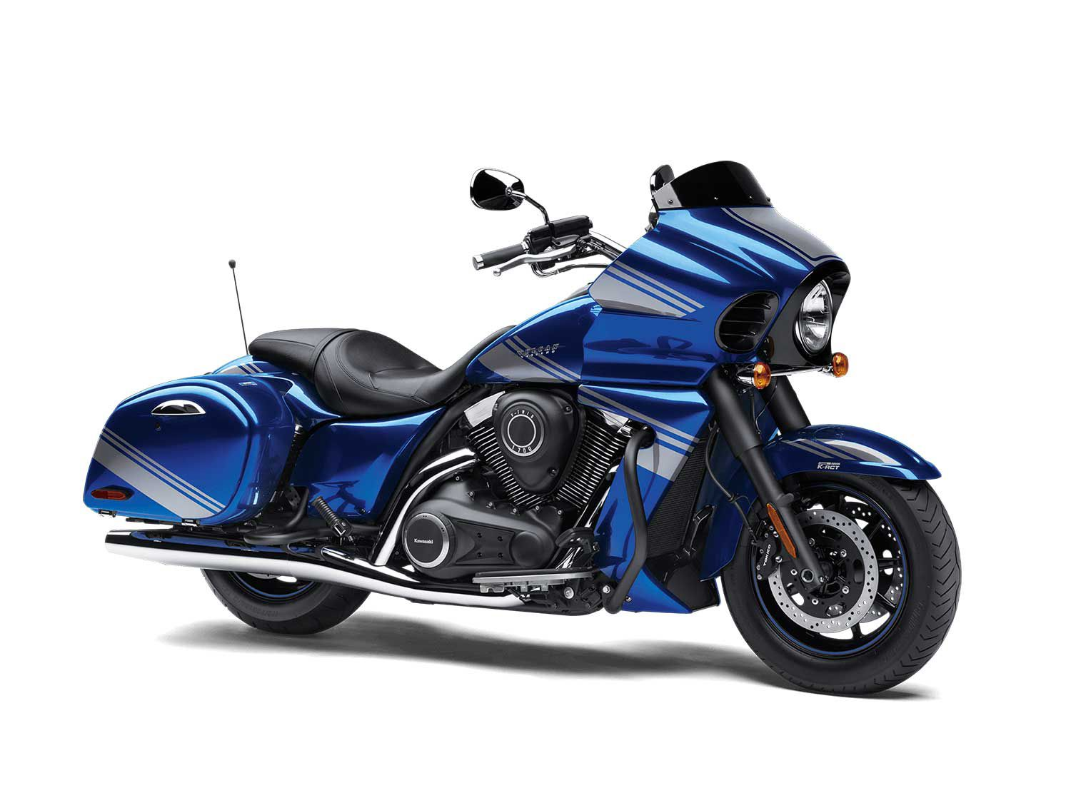 The 2020 Kawasaki Vulcan 1700 Vaquero ABS is a powerful, full-size bagger with all the fixings but very few frills.