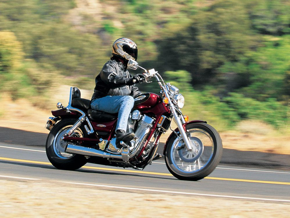 A Retro Review of the 1997 Suzuki Intruder 1400   Motorcycle