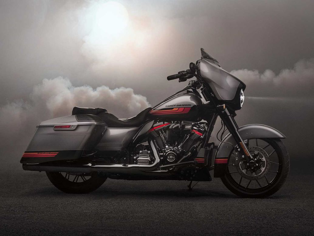2020 Harley-Davidson CVO Street Glide with new paint and styling options.