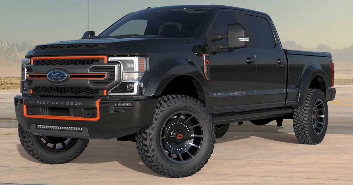 Harley-Davidson Ford F-250 Pickup Is Here