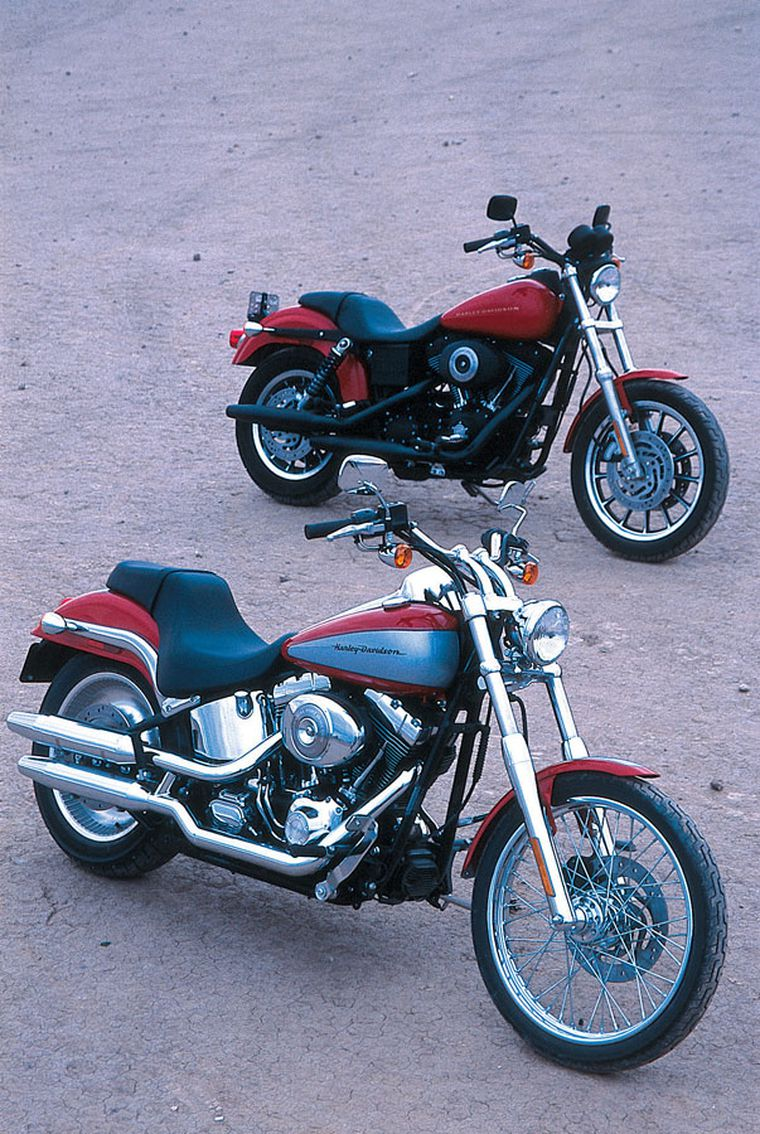 Review Of The 2002 Harley Davidson Dyna Super Glide Sport And Softail Deuce Motorcycle Cruiser