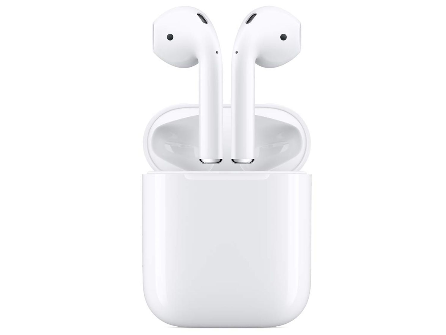 Listen to music, take calls, and receive directions all from the sleek Apple AirPods.