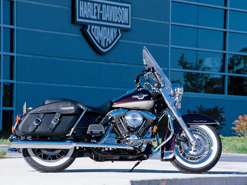 1998: Harley-Davidson Celebrates 95 Years With a New Road